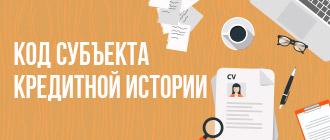 Код субъекта кредитной истории_мини